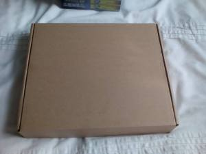 The box that the planner came in. Unfortunately i haven't got a picture of the package that it came in.